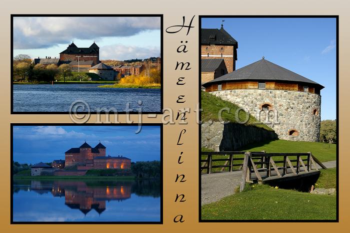 Hämeenlinna postikortti